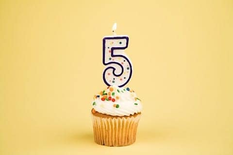 it s our 5 year anniversary mississauga chiropractor and
