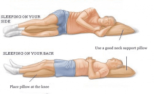 correct-posture-of-side-and-back-sleeping