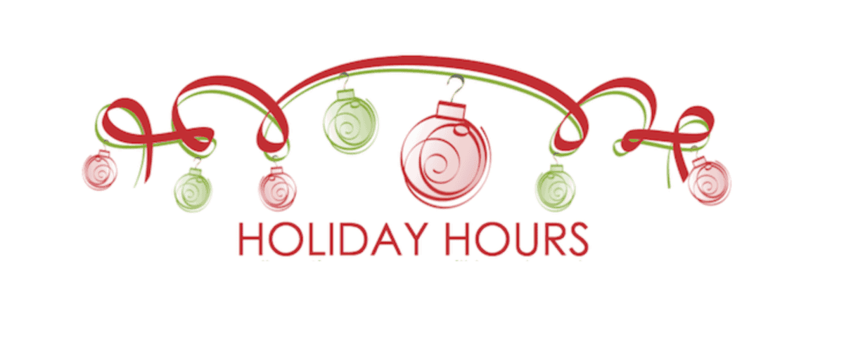 Image result for Holiday hours free clip art