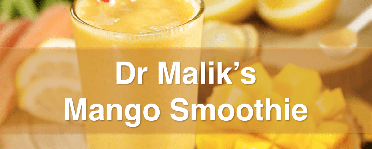 Blendtec Bed Bath And Beyond Dr Malik's Mango Smoothie - Mississauga Chiropractor and ...