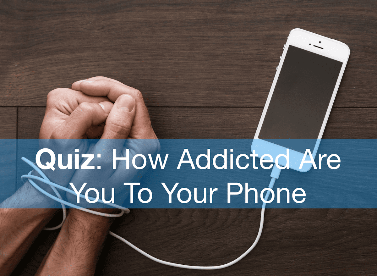 addicted to technology quiz